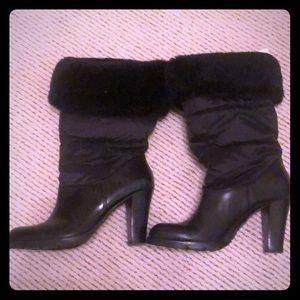 Michael Kors puffer boots